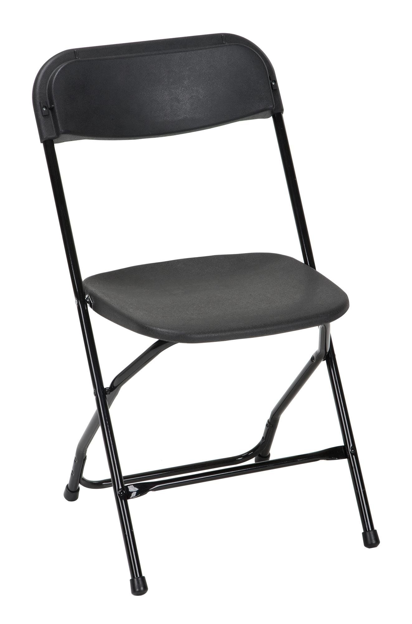 cosco commercial heavy duty injection mold folding chair black 8 rh pinterest com
