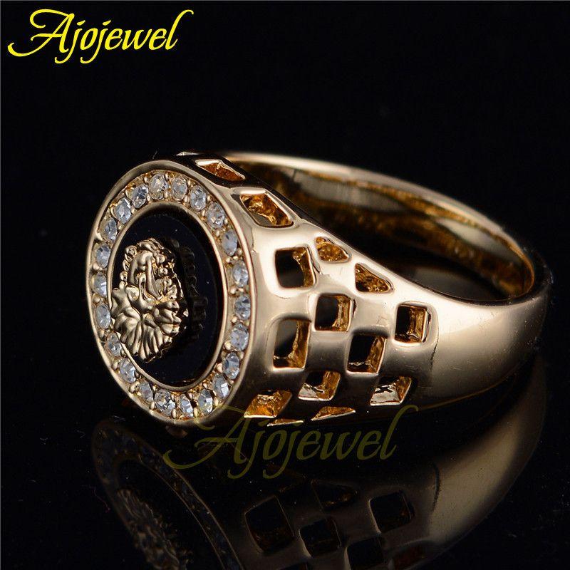 Ajojewel diseñador de la marca de joyería de los hombres anillo de ...