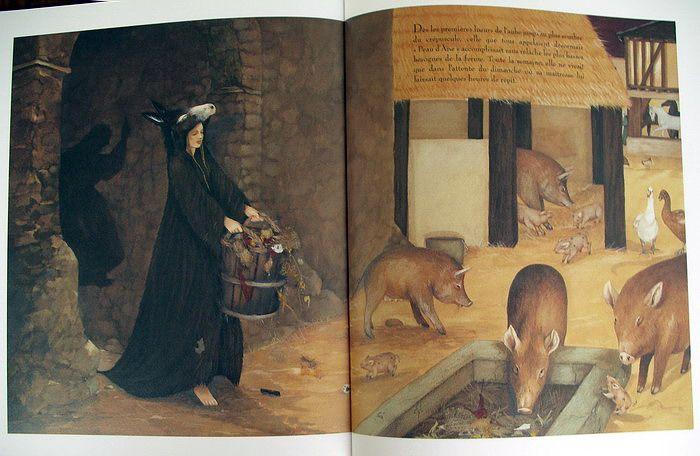 Детская Книга - Anne Romby. Peau d'Âne. © 2002.