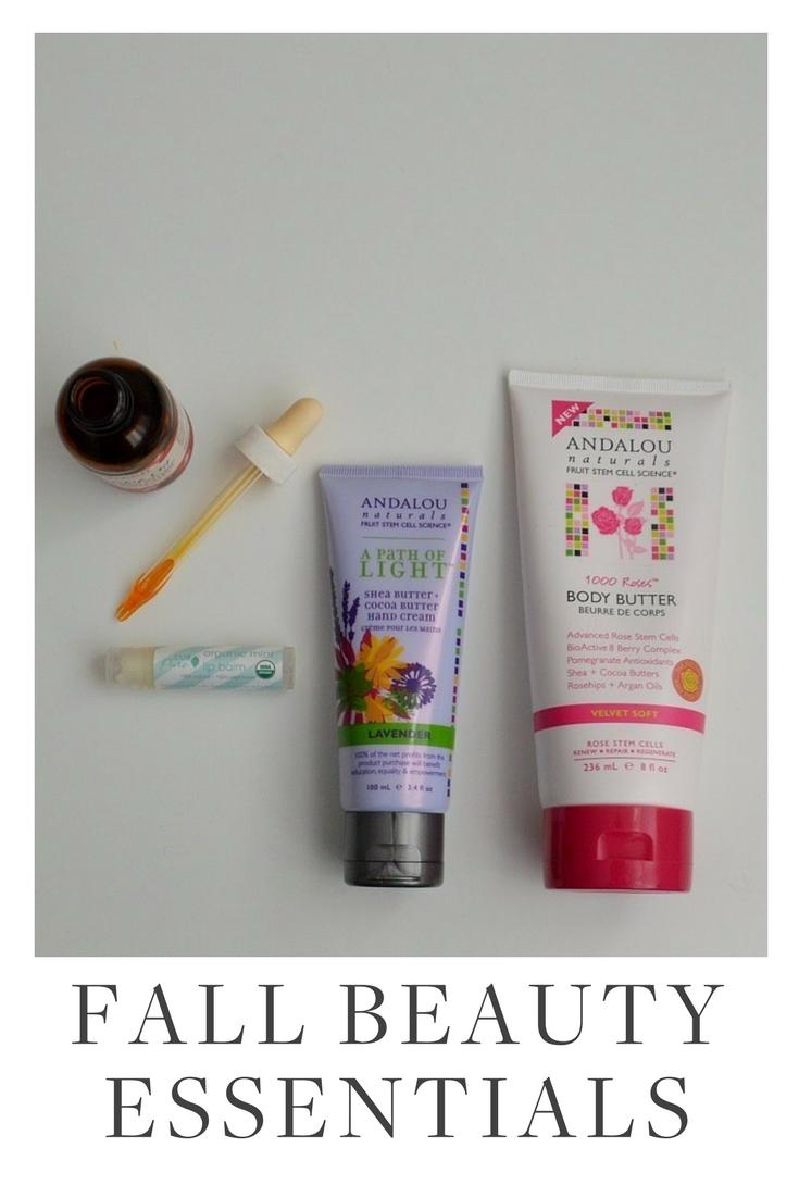 Fall Beauty Essentials | Green Beauty | Green Beauty Products | Natural Beauty | Natural Beauty Products | Beauty Tips | Skincare Tips | Skincare |