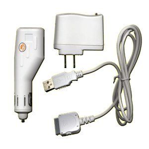 Amazon.com: USB Travel Kit with Car Charger, Travel Adapter & Cable ...