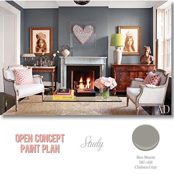 foolproof paint selections for an open concept floor plan painting rh pinterest com