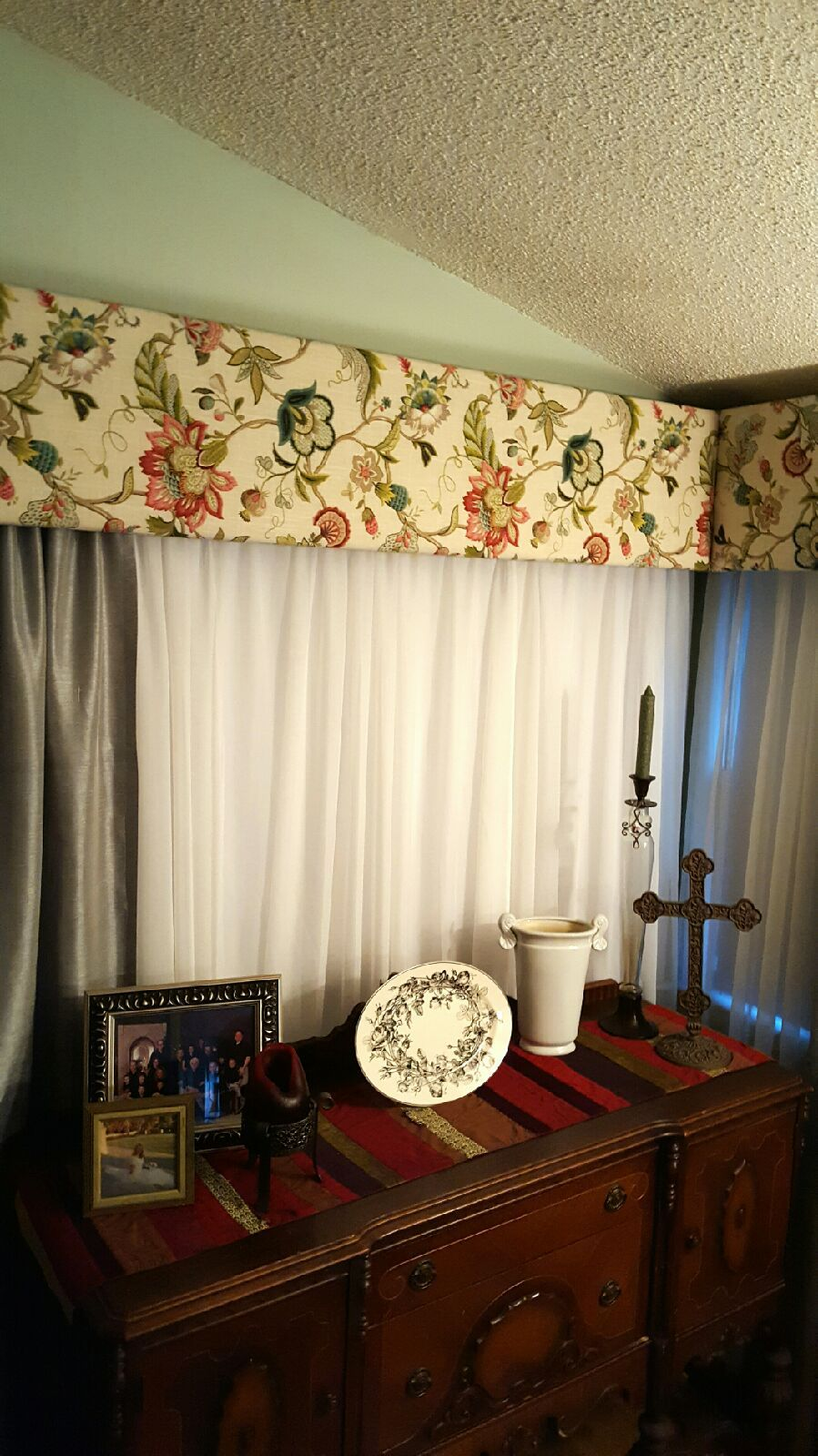 Secondhand valance You never know what you