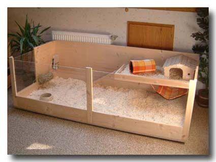 Modell Rechteck Kafig Fur Meerschweinchen In 2 Grossen L Und Xl