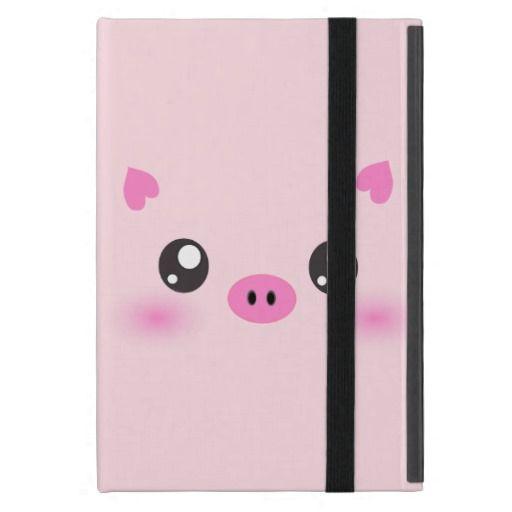 cute pig face kawaii minimalism ipad mini case zazzle com cute rh pinterest com