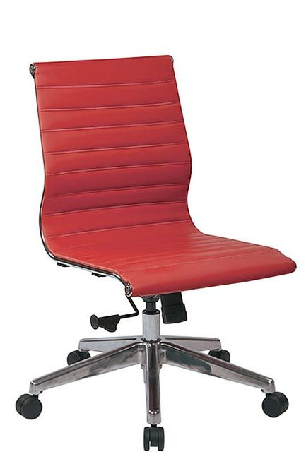 Mid Back Eco Leather Chair Bonded Leather Chair Leather Chair
