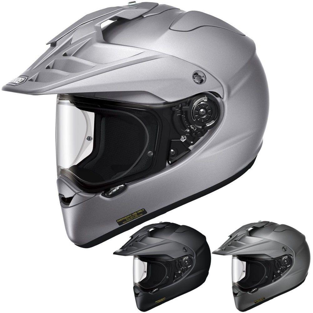 Shoei X2 Metallic/Matte Mens Dual Sport Helmets