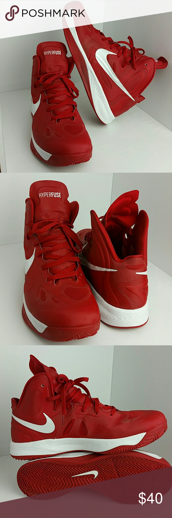 ... nike hyperfuse mens shoes very clean inside out ske jl nike shoes  athletic shoes