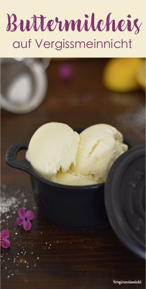 Buttermilcheis - ein Rezept meiner Mama #proteinicecream