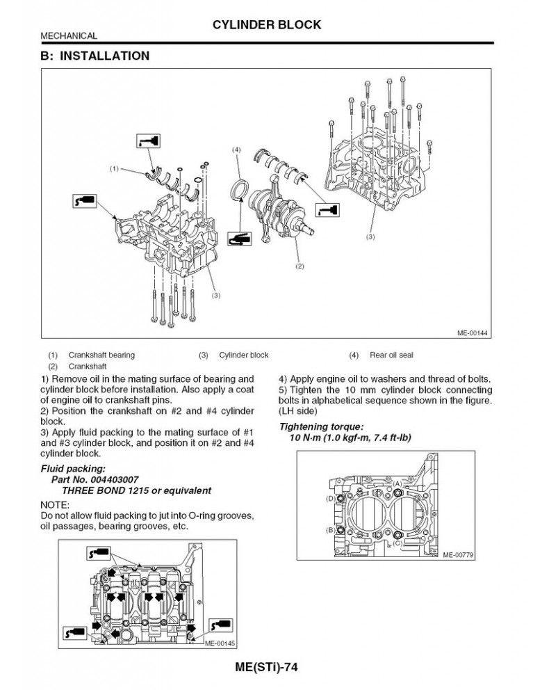 Wrx Engine Diagram - Wiring Diagram Schemas
