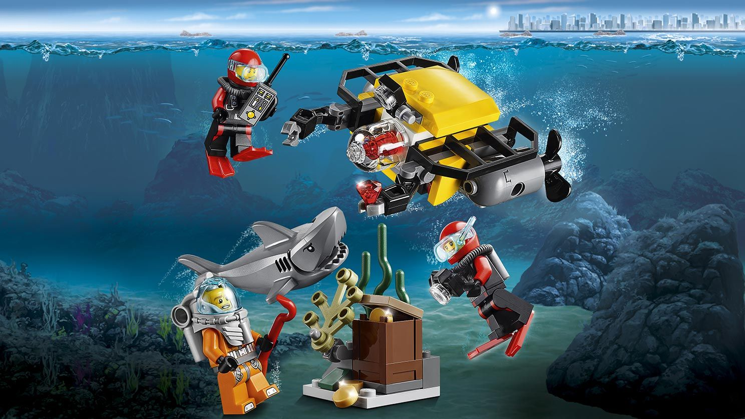 Lego City, Deep-sea Starting Set, March 2016