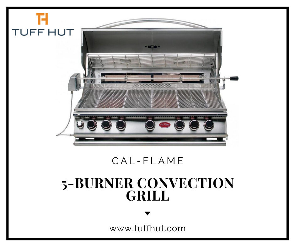 Cal Flame 5Burner Convection Grill Grilling, Cal flame