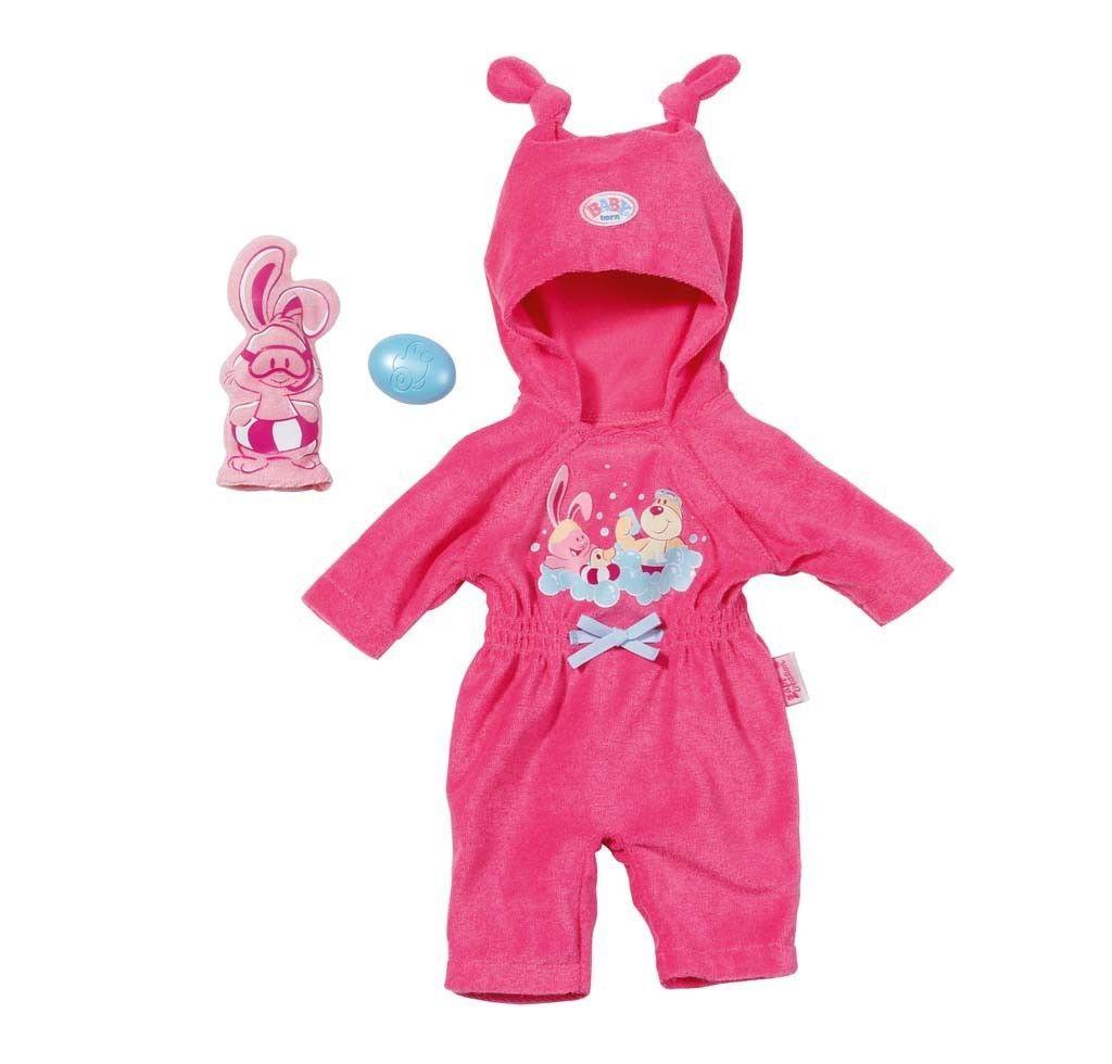 Baby Born Frotteeanzug Kinder Puppe Spielzeug Spielzeugpuppe Zapf Creation In Spielzeug Puppen Zubehor Babypupp Baby Geboren Puppe Spielzeug Zapf Creation