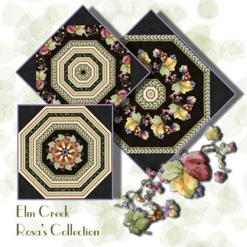 Elm Creek Rosa S Collection Kaleidoscope Quilt Block Kit