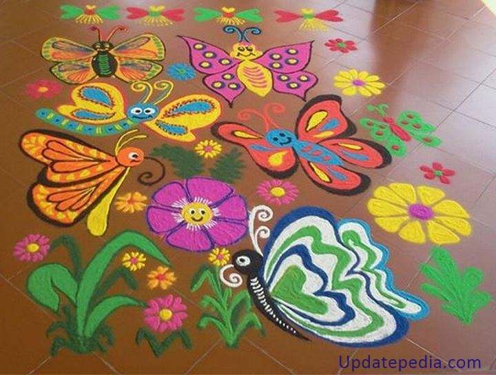 Get Awesome Competition Rangoli Design To Help You Win Prizes And Admiration We Bring Latest New Fresh Stylish Designs