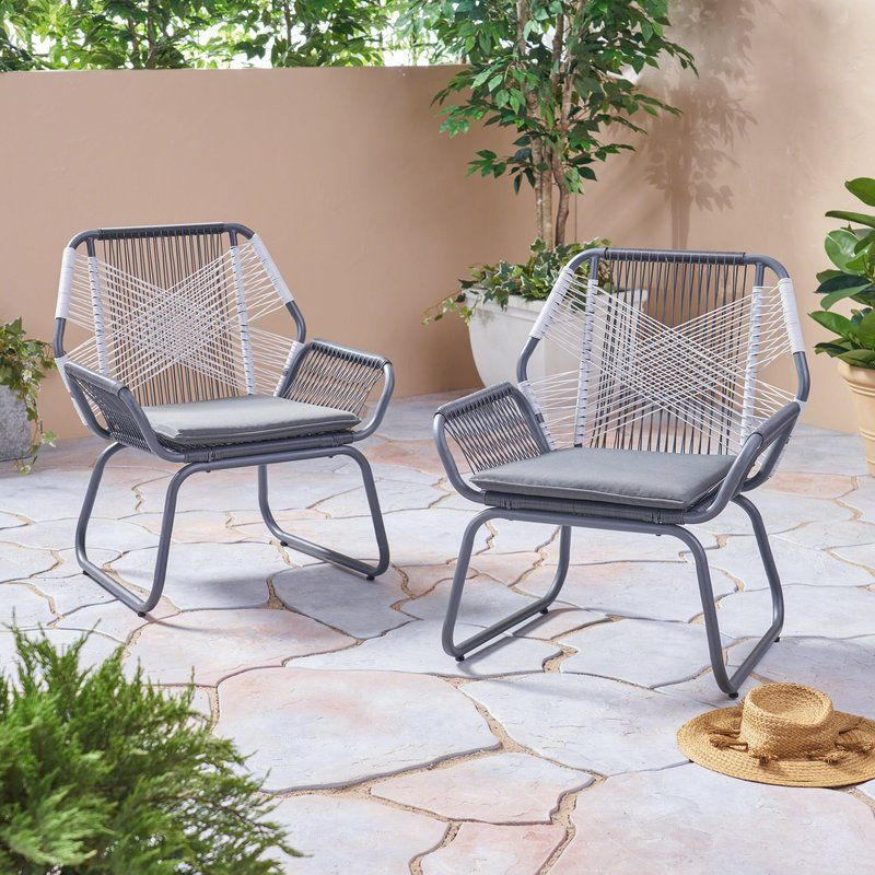 spivey patio chair with cushion in 2019 red oak pinterest club rh pinterest com