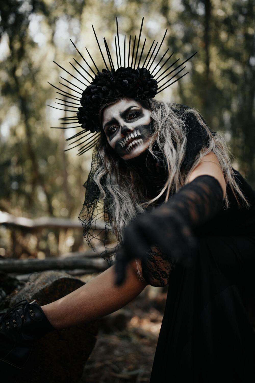 Halloween 2019 Skeleton Queen Wild One Forever