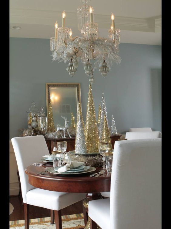 Paso a paso para elaborar centros de mesa navide os for Decoracion navidena elegante