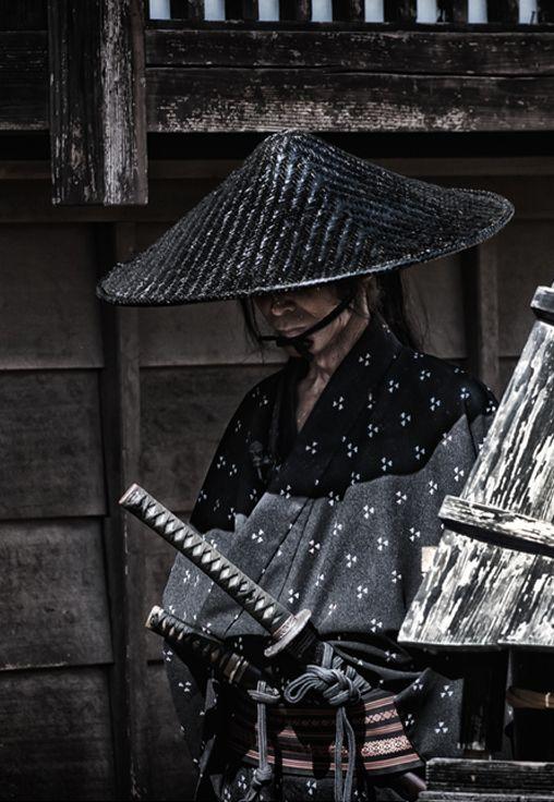 NEW SANDOGASA Japanese Traditional Hat Samurai costume Free shipping From Japan
