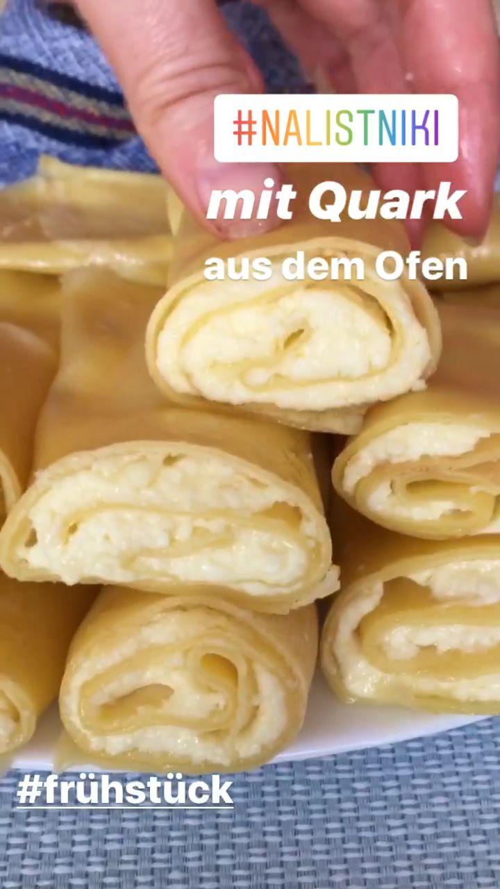 Photo of Nalistniki mit Quark – Rezept für feine Pfannkuchen aus dem Ofen