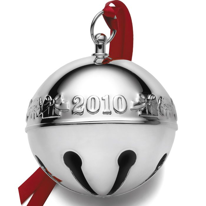 2010 Wallace Sleigh Bell Silverplate Ornament (With images ...