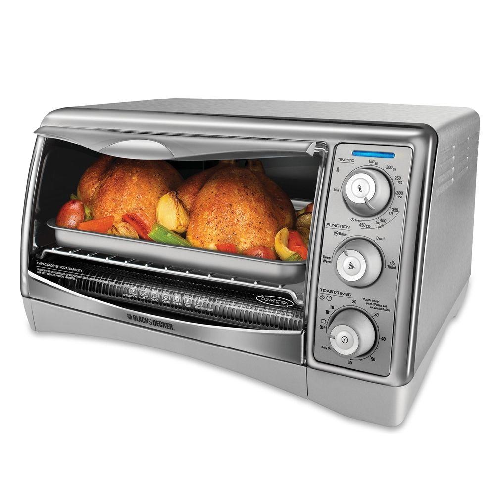 Black And Decker Digital Advantage Toaster Oven 6 Slice