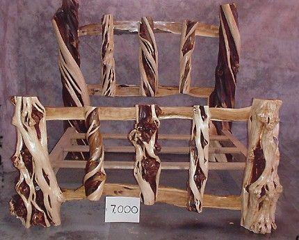 Juniper Bed Frame Wood Bed Frame Tree Bed Bed Furniture