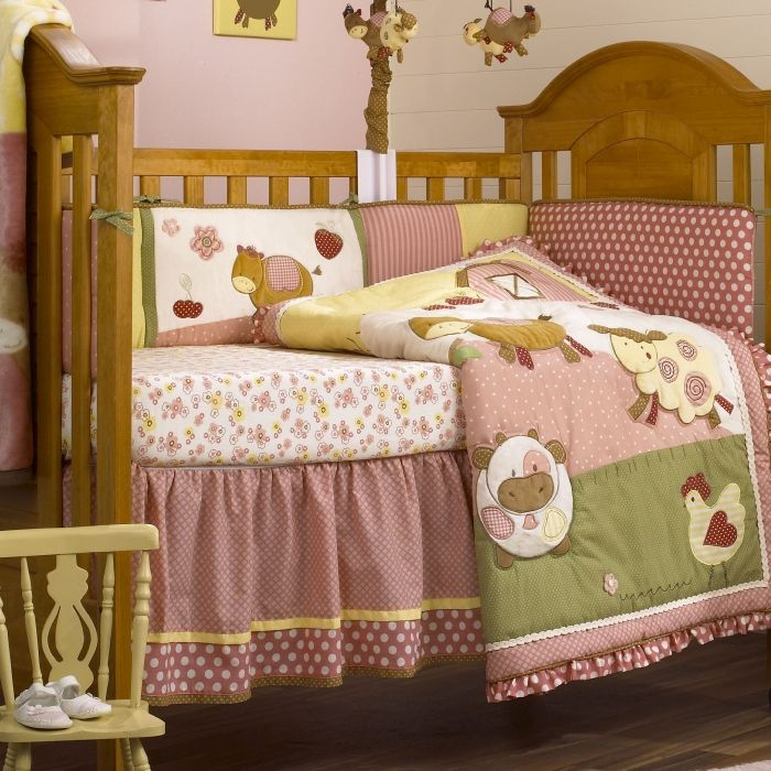 Baby Barnyard Crib Bedding Cocalo Abby S Farm Crib Set Baby
