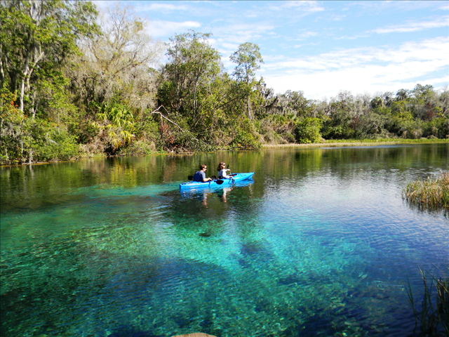 Tube Or Kayak Rainbow River In Rainbow Springs State Park Went To