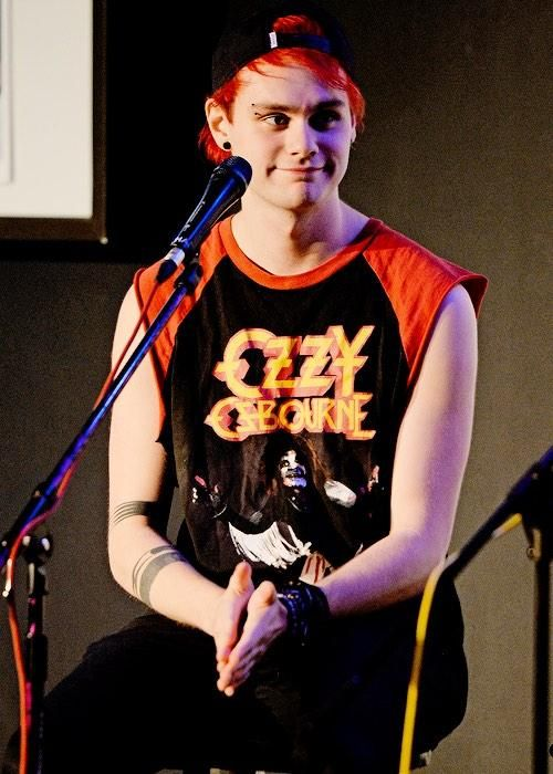 Michael Clifford Snapback Red Hair