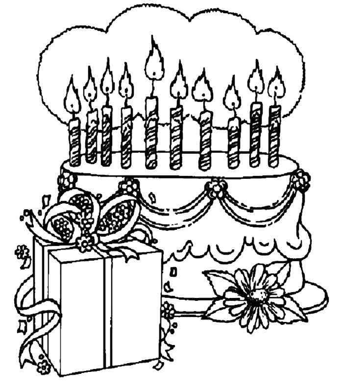 Geburtstag (5) | coloring 2 | Pinterest | Malvorlagen kostenlos ...
