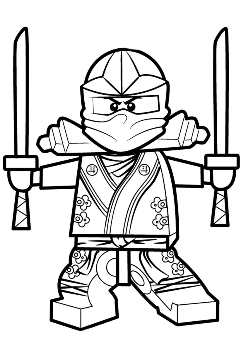 Lloyd Garmadon High Quality Free Coloring From The Category Lego Ninjago More Printable Pictures On Our W Coloriage Ninjago Coloriage Lego Livre De Couleur
