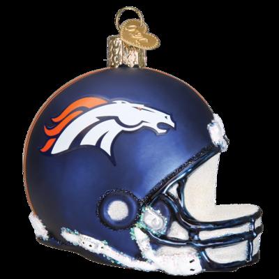 Denver Broncos Helmet 71017 Old World Christmas Ornament Denver Broncos Helmet Nfl Football Helmets Football Helmets