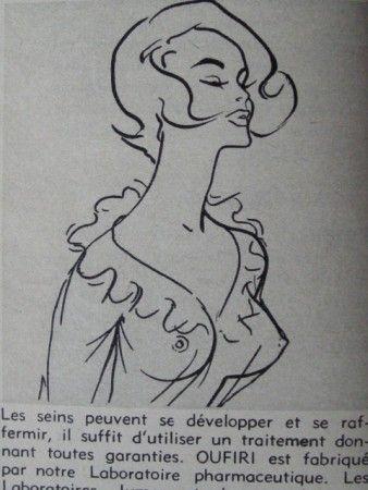 """Tout un génération de fille à rêvé  d'avoir les seins """"Oufiris""""..."""