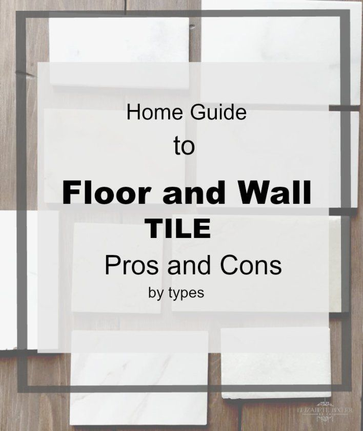 Pros And Cons Of Different Types Of Tile Options Marble