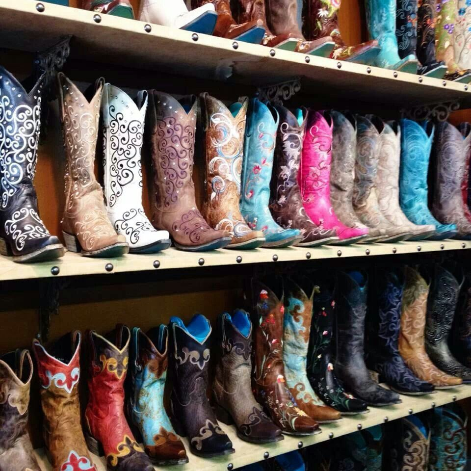 Now this is boot heaven! #LaneBoots