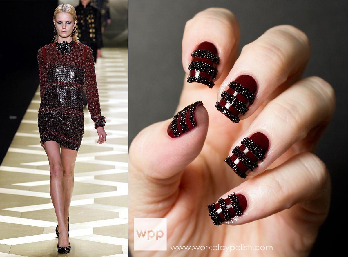 Black dress nails - Black Dress Nail Colour