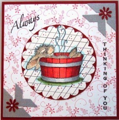House-Mouse & Friends Monday Challenge; http://housemouse-challenge.blogspot.com/