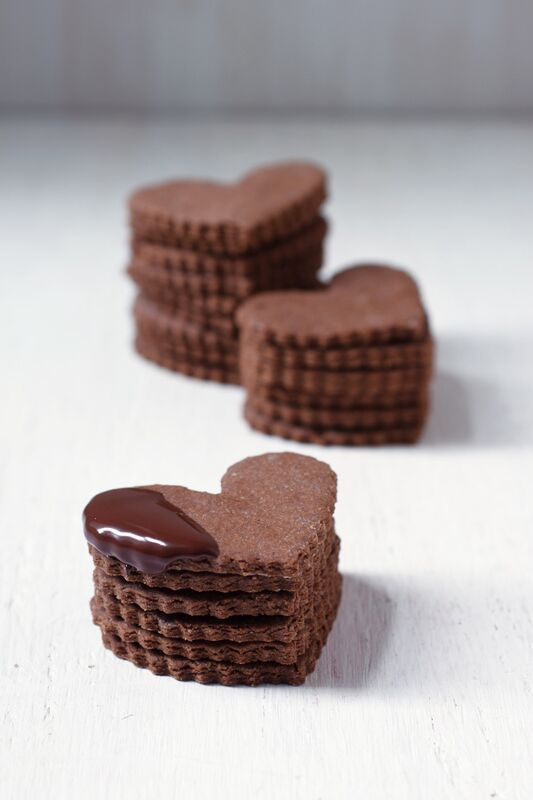 Heart Cookies: A great way to express your love.