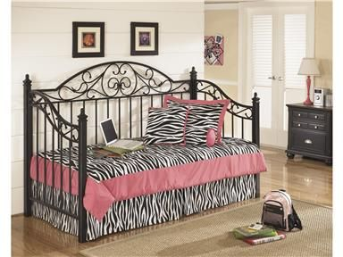 Shop For Ashley Metal Day Bed With Deck, B422 80, And Other Bedroom