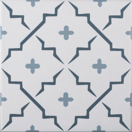 Carrelage 15x15 Cm Sol Et Mur Aspect Carreaux De Ciment Co9704019