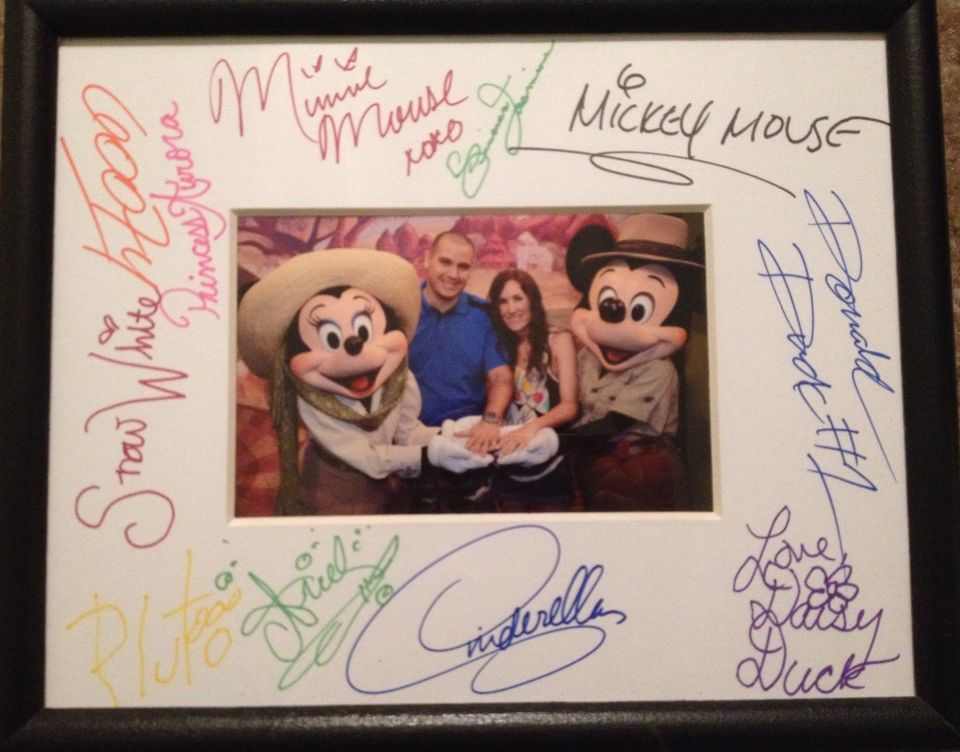 My Favorite Keepsake From Our Disney World Honeymoon Our Custom