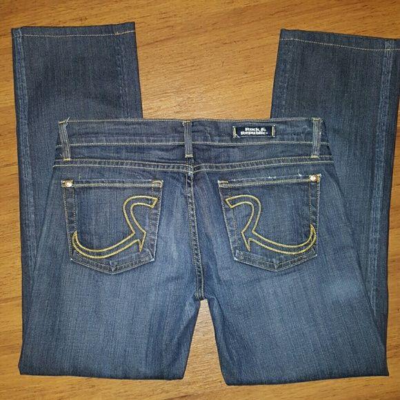 Rock Republic Jeans Size 28 Size 6 Jeans Size Chart Clothes Design Rock Republic Jeans