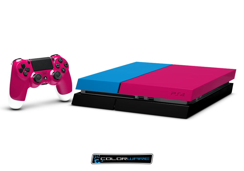 Customized PS4 #pnk #blue | GotGame? lol | Playstation, Playstation