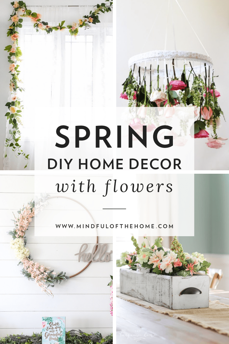 13 Diy Spring Decor Ideas With Flowers Flower Box Centerpiece