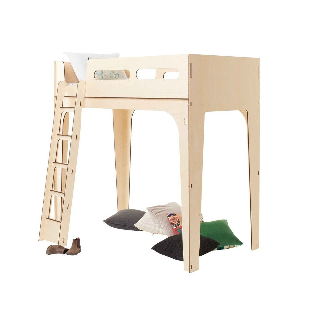 Loft bed with stairs diy  Dream Cloud Loft Bed  Lofts Kid décor and Bunk bed