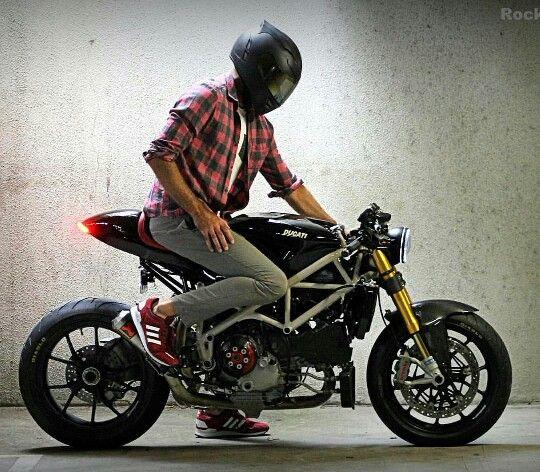 ducati 1098 cafe racer otomobil ve motorsiklet fanatikleri