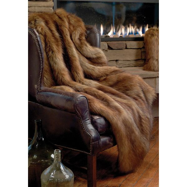 Northern Fox Limited Edition Faux Fur Throws (57.855 HUF