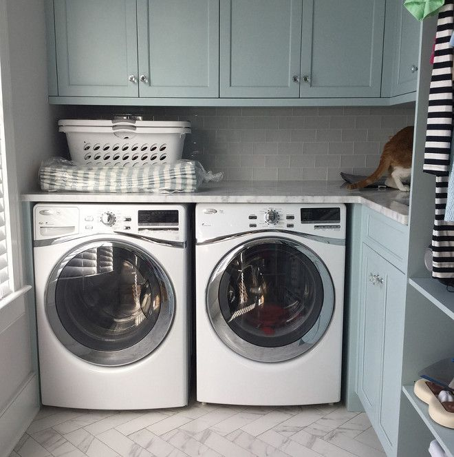 New Beach House With Coastal Interiors Home Bunch An Interior Design Luxury Homes Blog Stylish Laundry Room Coastal Interiors Luxury Interior Design