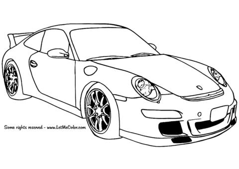 Ausmalbilder Autos Porsche 911 Gt3 Malvorlage Auto Cars Ausmalbilder Ausmalbilder Zum Drucken